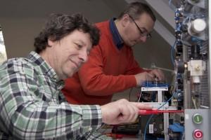 Aufbau einer elektropneumatischen Anlage